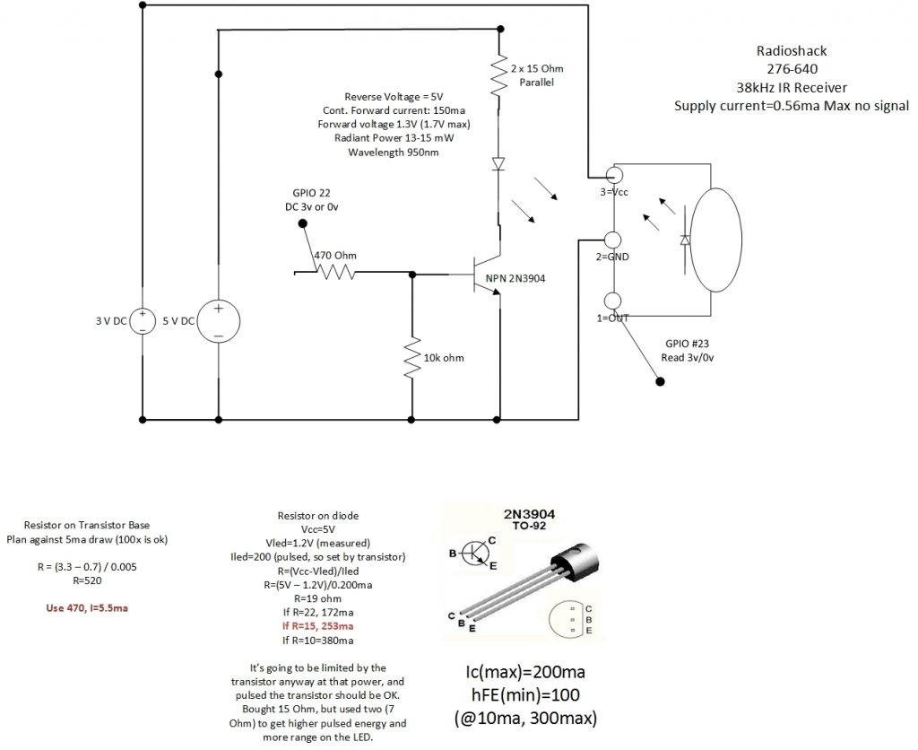 Pi Remote Schematic